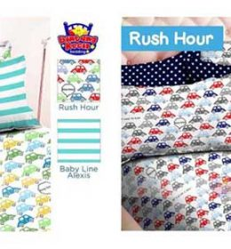 Sprei Star Rush Hour