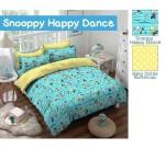 Sprei Star Snoopy Happy Dance