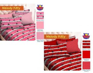 Sprei Star Melody Kitty