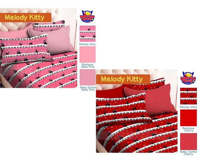 Bintang Kecil Collection Melody Kitty Pink