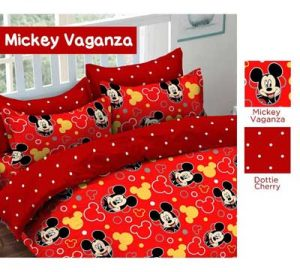 Sprei Star Mickey Vaganza