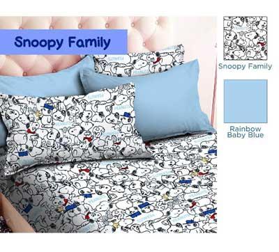 snoopy-family-putih