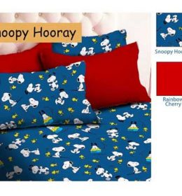 Sprei Star Snoopy Hooray
