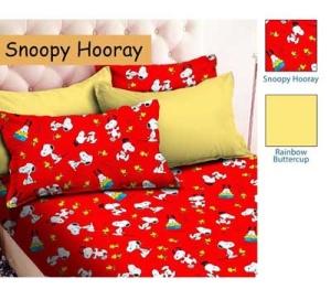 Sprei Star Snoopy Hooray