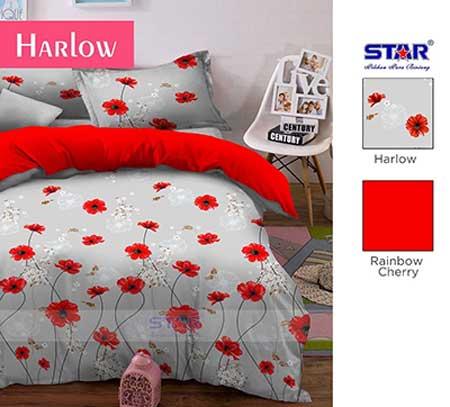 Sprei Harlow Merah