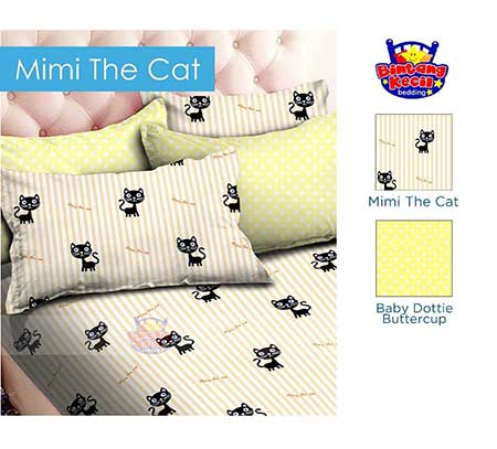 Sprei Star Mimi The Cat