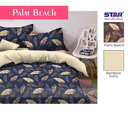 Sprei Star Palm Beach