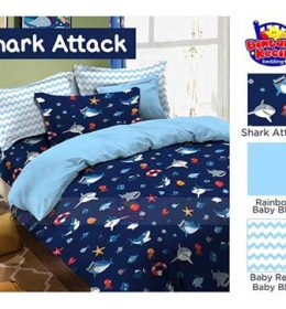 Sprei Star Shark Attack