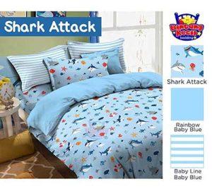 Sprei Star Shark Attack