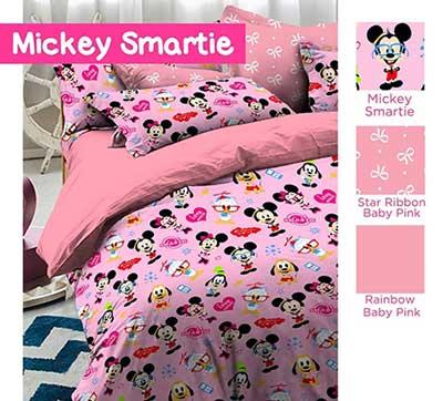 Sprei Star Mickey Smartie