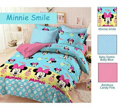 Sprei Star Minnie Smile