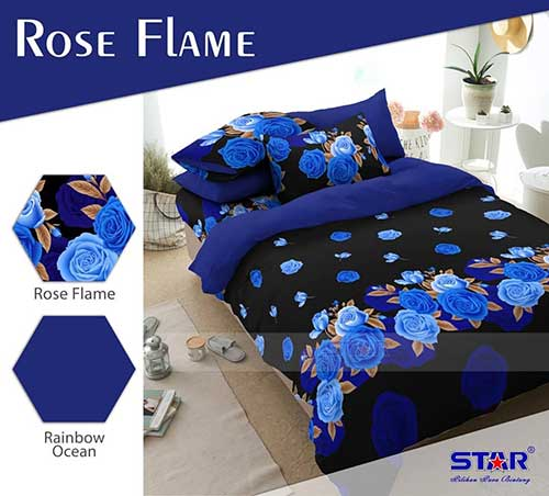 rose-flame-biru