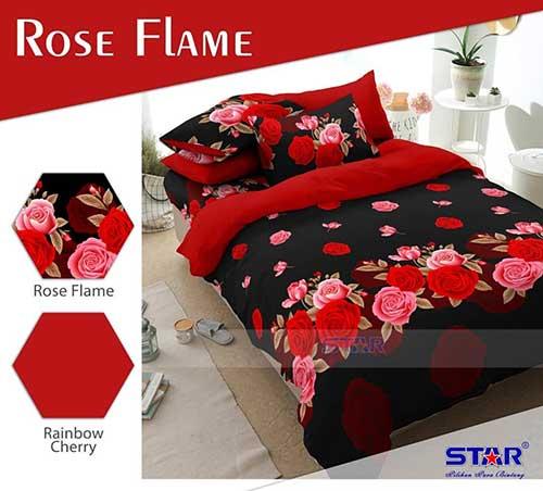 rose-flame-merah