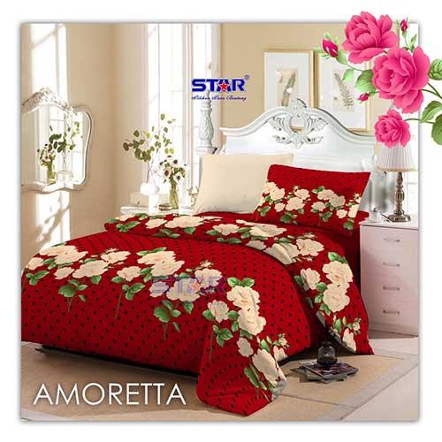 sprei-star-amoretta-merah