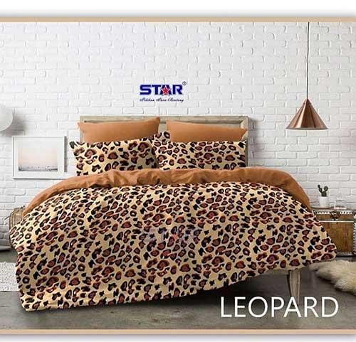 sprei-star-leopard