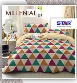 sprei-star-milenial-cream