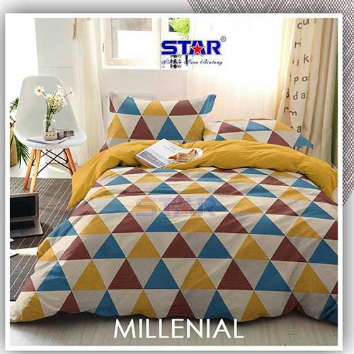 sprei-star-milenial-kuning