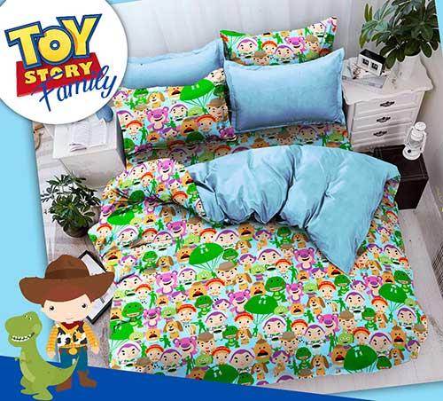 sprei-star-toys-story-family-biru