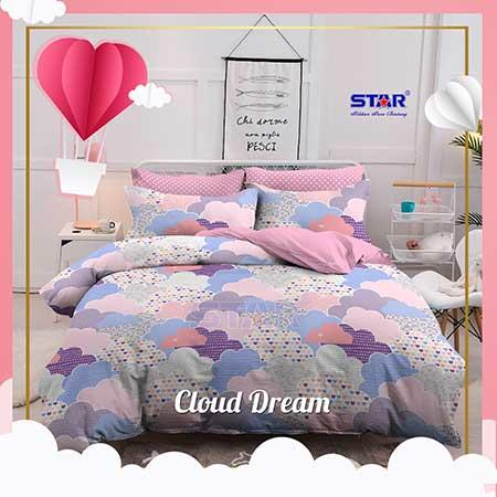 sprei-star-dream-cloud-pink