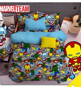 sprei-star-marvel-team-light-blue