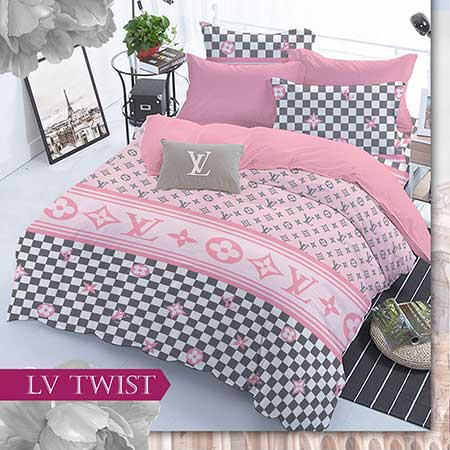 sprei-star-lv-twist-pink