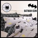 sprei-star-batman-icon-hitam