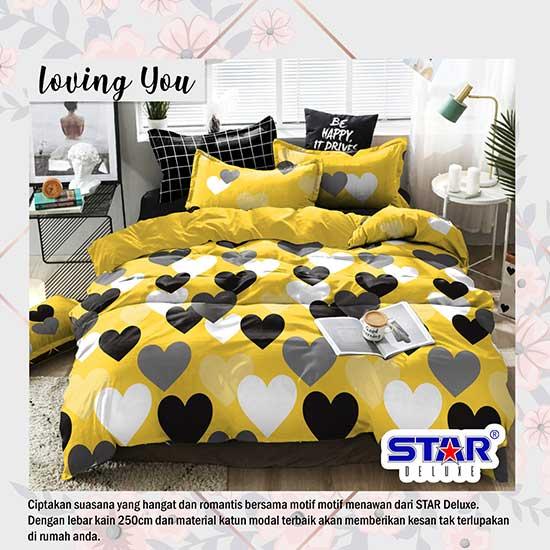 sprei-star-loving-you
