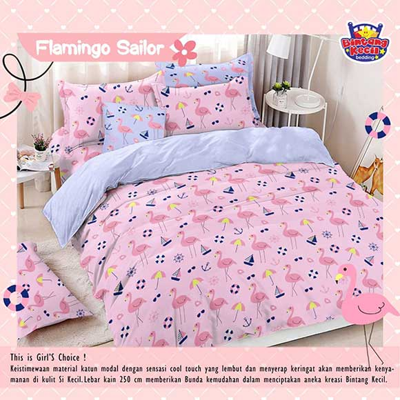 sprei-star-flamingo-sailor