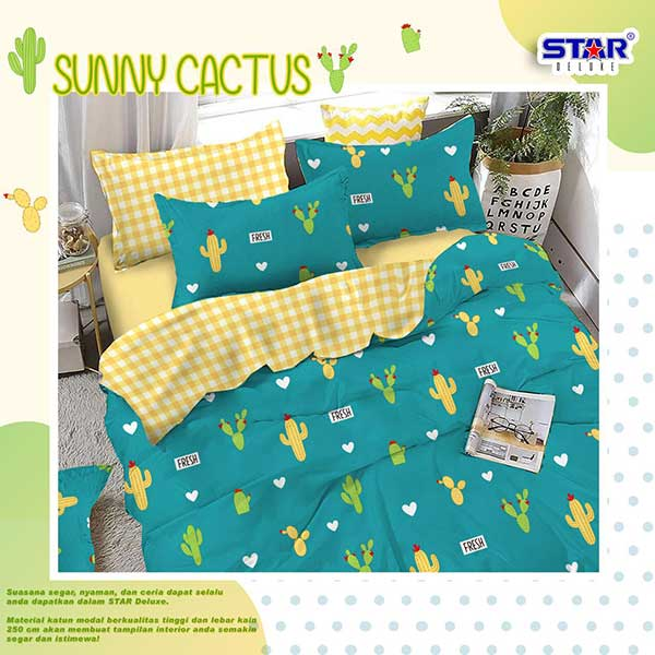 sprei-star-sunny-cactus